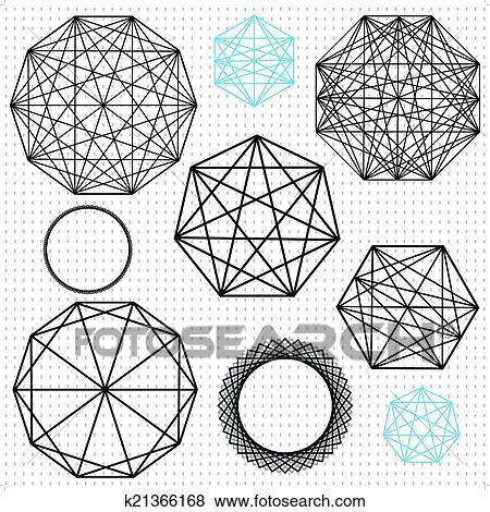 艺术几何结构图片