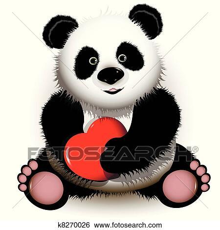 剪贴画 - 熊猫