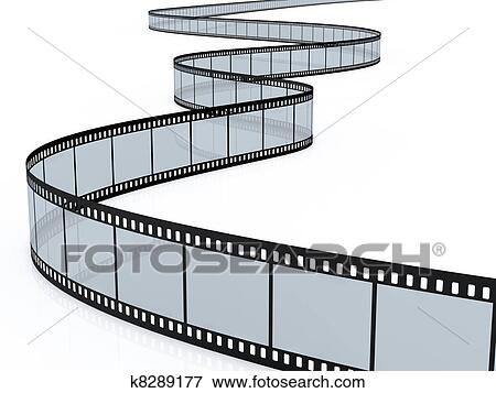 Stock illustration film strip fotosearch search eps clipart