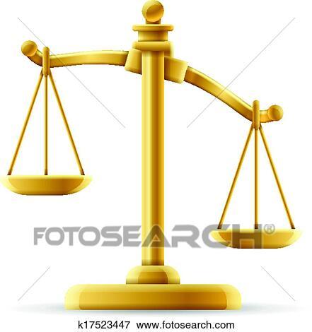 Clipart d s quilibr balance justice k17523447 recherchez des cliparts des illustrations - Dessin de balance ...
