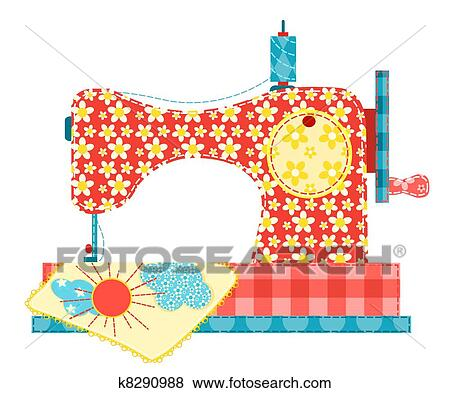 Sewing machine Clipart Royalty Free. 1,881 sewing machine clip art ...