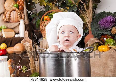 Petit Pot Decor Legume Bebe