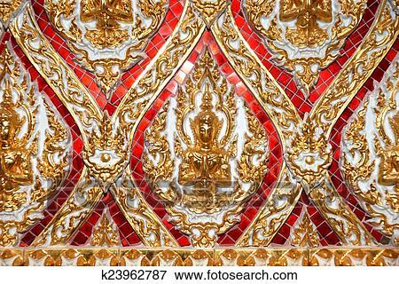 模式, 泰国, 泰国人, 目的地, 祝福, 结构, 美丽, 老年, 背景, 艺术