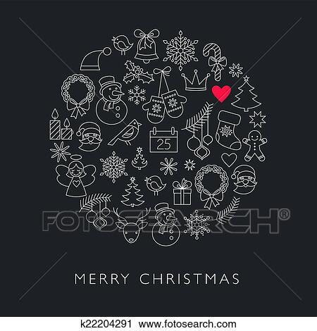 clipart weihnachtskugel schwarz wei linie heiligenbilder k22204291 suche clip art. Black Bedroom Furniture Sets. Home Design Ideas