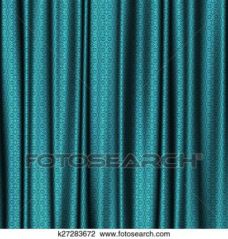 clip art of curtain lace generated texture k27283672