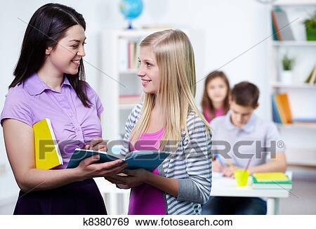 Фото учительница и ученик