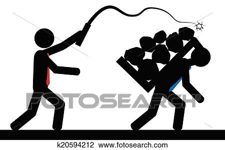 Clip Art Slavery Clipart slavery clipart and illustration 665 clip art vector eps slavery