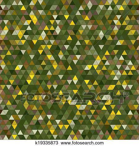 彩色, 三角形