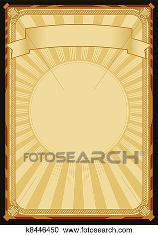Clipart hintergrund elegante fr her plakat k8446450 for Elegante wandbilder