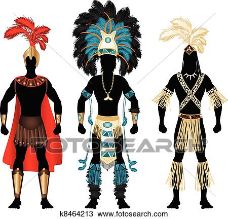 Festival Costumes Drawing Male Carnival Costumes