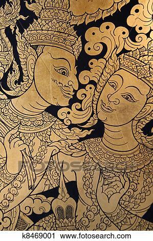 免版税(rf)类图片 - 古代, 泰国人, 艺术