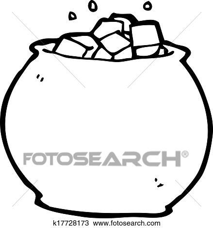 Schüssel clipart  Clip Art - karikatur, schüssel, zucker k20483406 - Suche Clipart ...