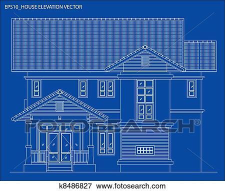 剪贴画 升级, 房子, 矢量