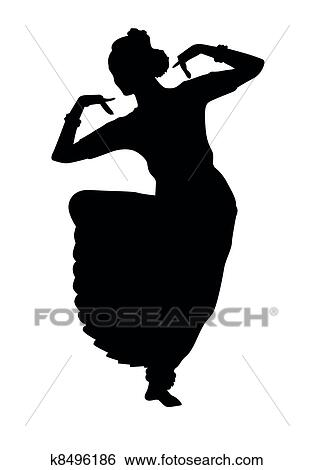 clip art of indian dancing k8496186 search clipart illustration rh fotosearch com indian clip art black and white indian clipart