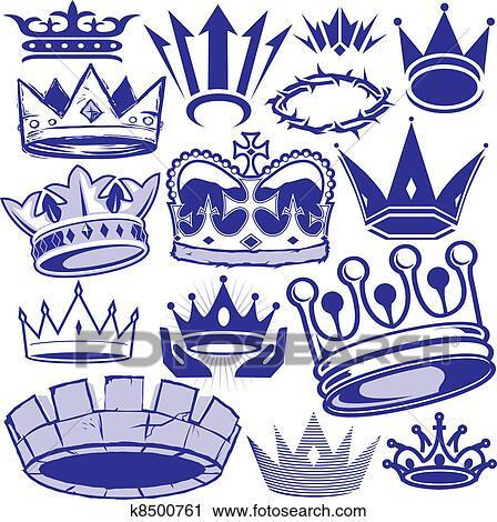 皇冠符号图案大全