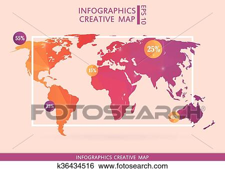 Creating infographic maps