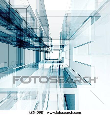 stock fotografie abstrakt architektur hintergrund