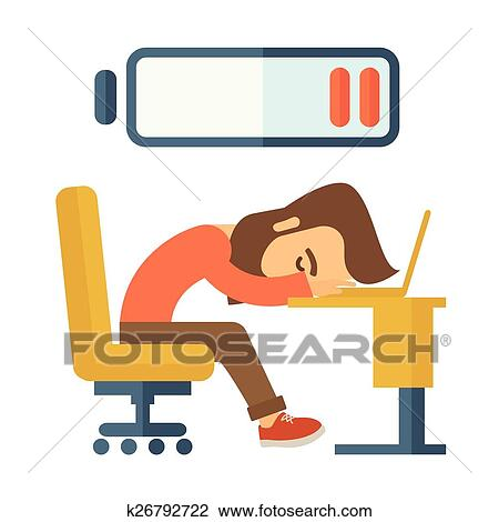 clipart of lying tired employee k26792722 search clip art rh fotosearch com tire clipart tire clipart images free