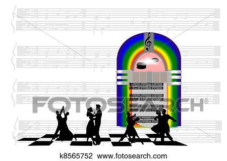 clipart of jukebox saturday night k8565752 search clip art rh fotosearch com jukebox music clipart jukebox clip art free