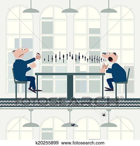 Clip Art of Financial advisor. k20255899 - Search Clipart ...