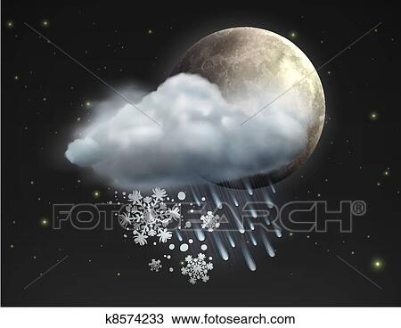 %u2013, 月亮