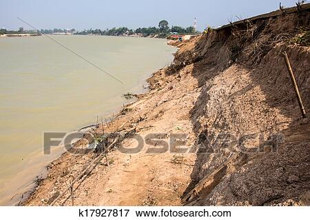Picture of soil erosion by the river k17927817 search for Soil erosion in hindi