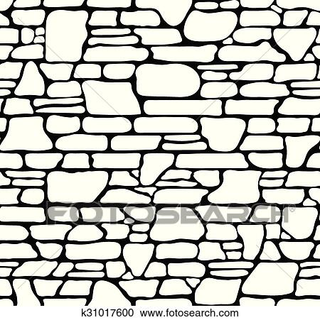 clipart of seamless stone texture k31017600 search clip art rh fotosearch com stone wall pattern clipart