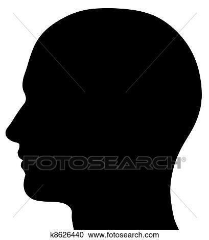 Head Profile Clip Art clipart of nose k15784971 - search clip art ...   409 x 470 jpeg 13kB