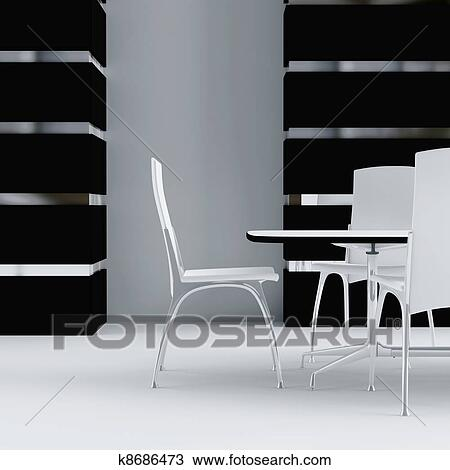手绘图 - 怀特, 桌子,图片