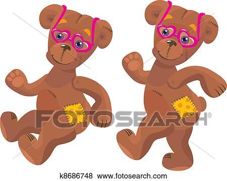 玩具熊卡通图片大全