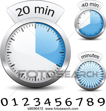 Clipart of vector timer easy change time every one minute k8696472 clipart vector timer easy change time every one minute fotosearch search clip publicscrutiny Image collections