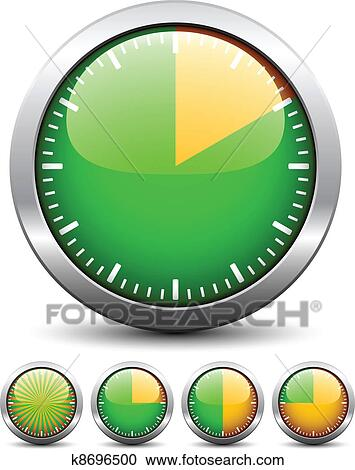 Clipart of vector timer easy change time every one minute k8696500 clipart vector timer easy change time every one minute fotosearch search clip publicscrutiny Image collections