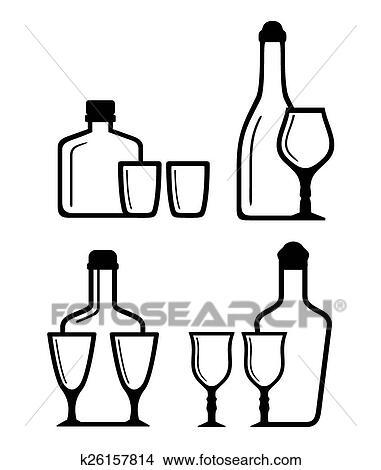 递瓶子图标