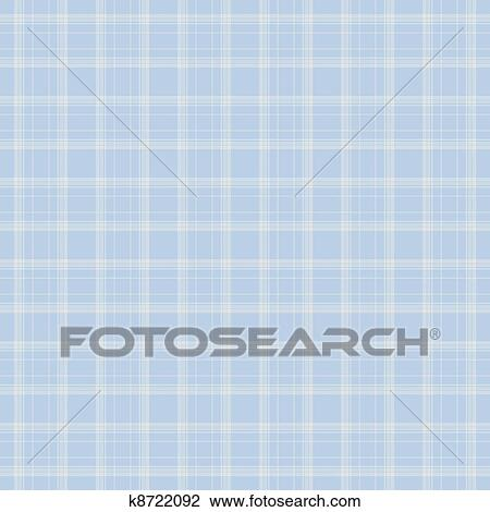 Stock Photo of Dainty Baby Blue Plaid k8722092 - Search Stock ...