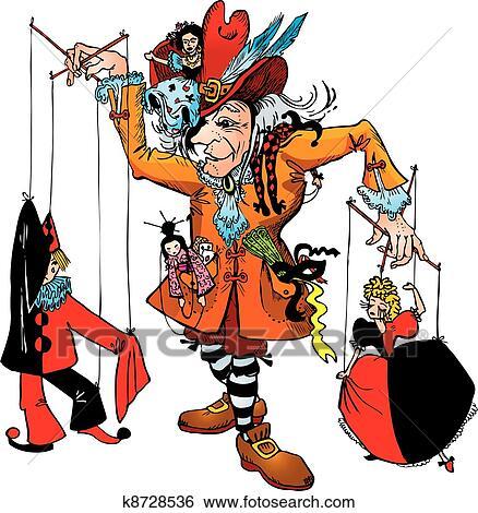 Marionetten spielen learn english