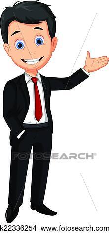clipart of business man cartoon presenting k22336254 necktie clip art free necktie clip art black and white