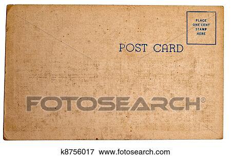Picture Of Vintage Postcard Texture K8756017