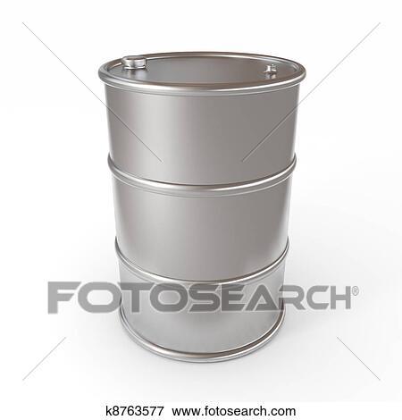 Oil Barrel Drawing Oil Barrel