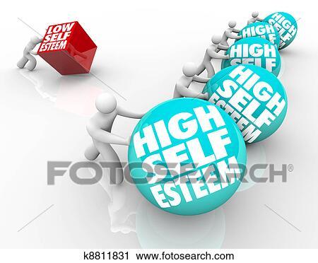 High Self Confidence Low Self Esteem a Person With Low Self Esteem