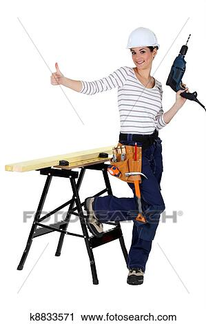 Female carpenter clipart - photo#13