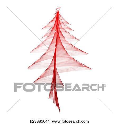 手绘图 - 圣诞节树