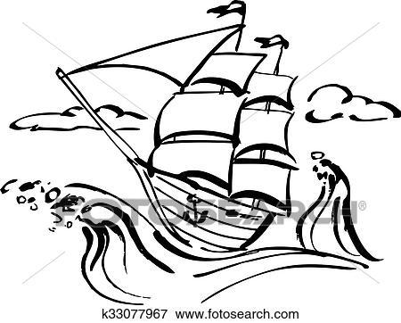 大海怎么画 大海和海浪怎么画怎么画大海图片大全图片