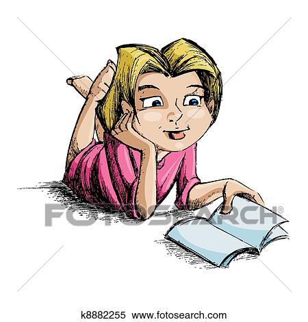 Clipart lecture de femme clip-arts, cliparts gratuits
