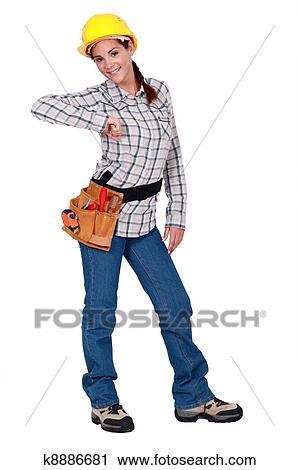 Female carpenter clipart - photo#26