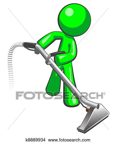 Clip Art Carpet Cleaning Clip Art clipart of carpet cleaning service k4753532 search clip art green man with steam cleaner wand