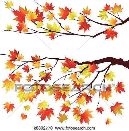 clipart of autumn maple tree branches k8892770 search clip art swirl marks clip art swirly line