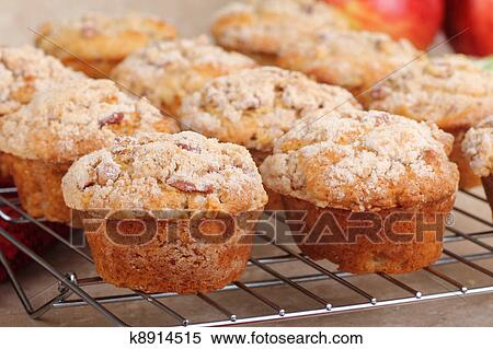 Маффины с яблоками рецепт с фото