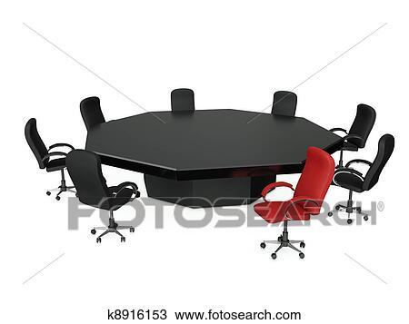 Dessin 3d illustration a groupe de chaises stand for Chaise 3d dessin