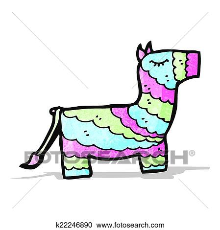 clipart of cartoon pinata k22246890 search clip art illustration rh fotosearch com pinata clipart transparent cute pinata clipart