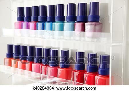 Nail polish bottles photography